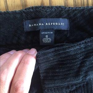 Banana Republic Pants - Banana Republic Black Wide Leg Corduroys Size 6